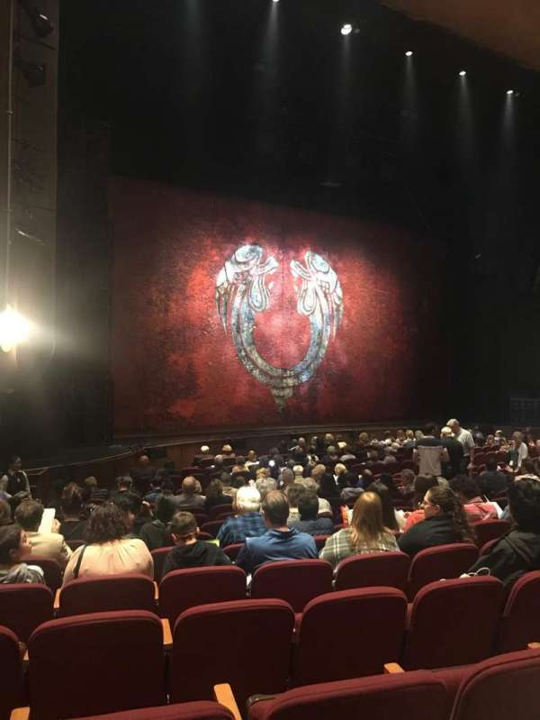 San Jose Center For The Performing Arts, section: ORCL, row: 13, seat: 48