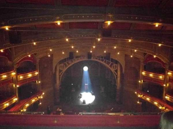 Lyric Theatre, section: Balcony C, row: C, seat: 106