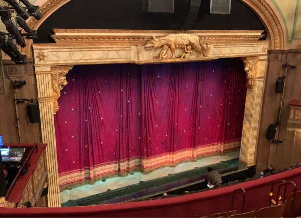 Booth Theatre, section: Left Mezzanine, row: G, seat: 17
