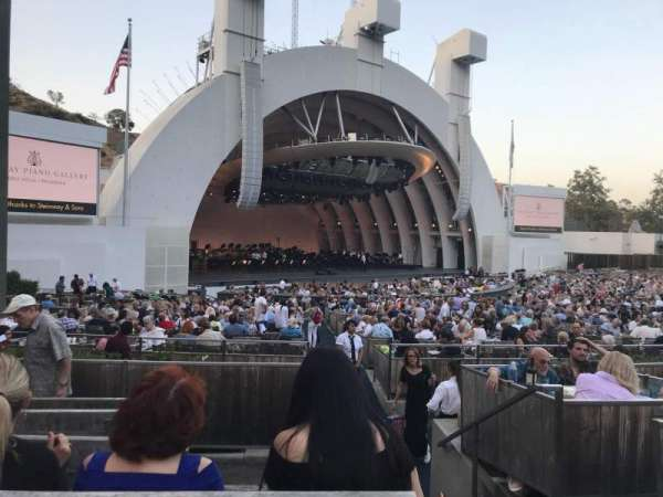 Hollywood Bowl Section E Row 5 Seat 1