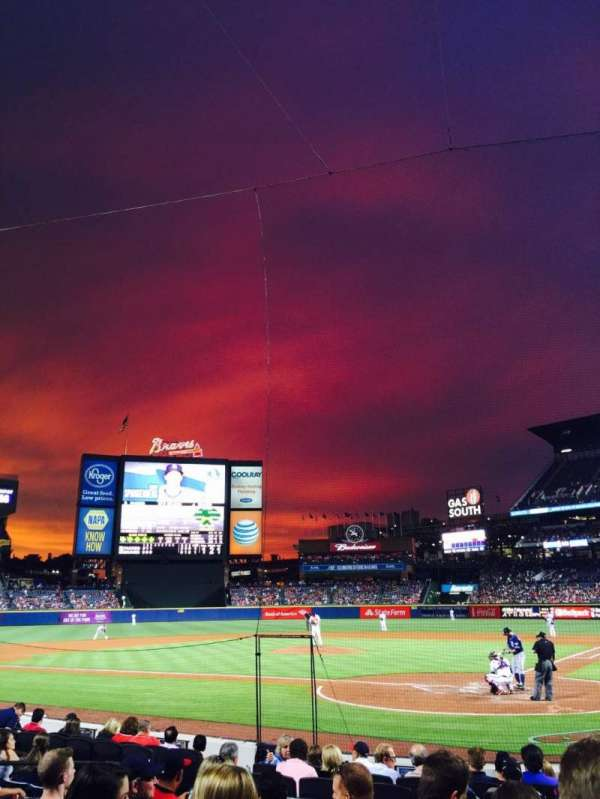 Turner Field, section: 106, row: 9, seat: 10