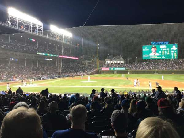 Wrigley Field, section: 124, row: 10, seat: 10
