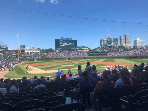 Wrigley Field, section: 120, row: 7, seat: 13