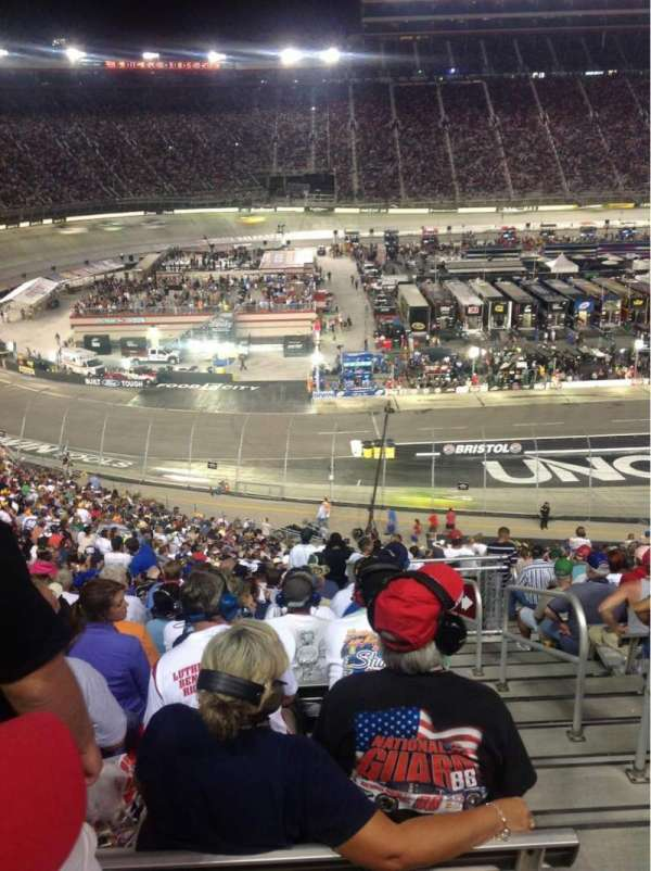 Bristol Motor Speedway, section: Waltrip-A, row: 41, seat: 5