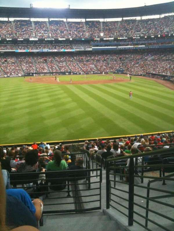 Turner Field, section: 240L, row: 5, seat: 103