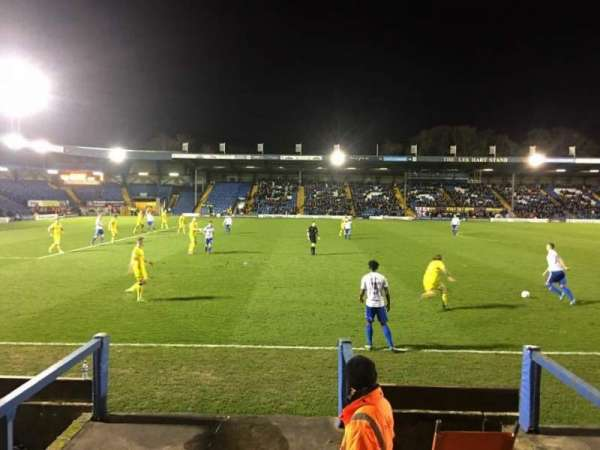 Gigg Lane, section: G, row: R, seat: 129