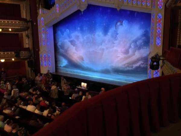 CIBC Theatre, section: Dress Circle Box 2, row: BX2, seat: 206