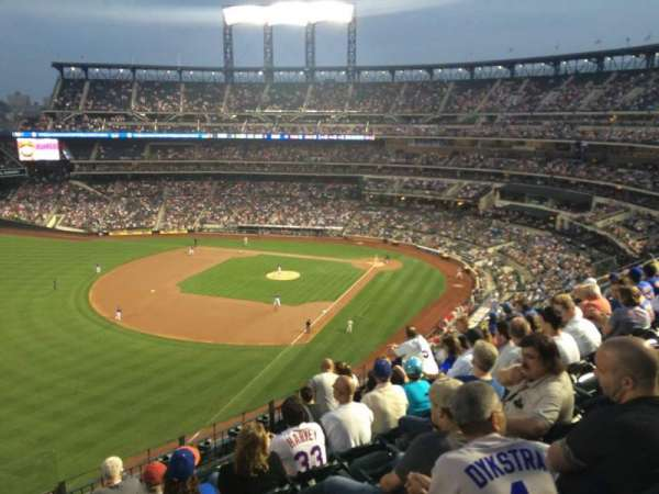 Citi Field, section: 527, row: 2, seat: 21