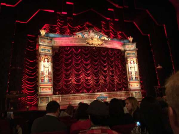 Walter Kerr Theatre, section: Orchestra C, row: K, seat: 118