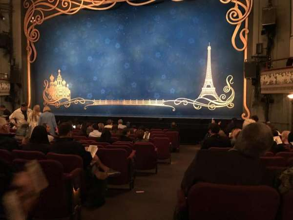 Broadhurst Theatre, section: Orchestra R, row: N, seat: 2