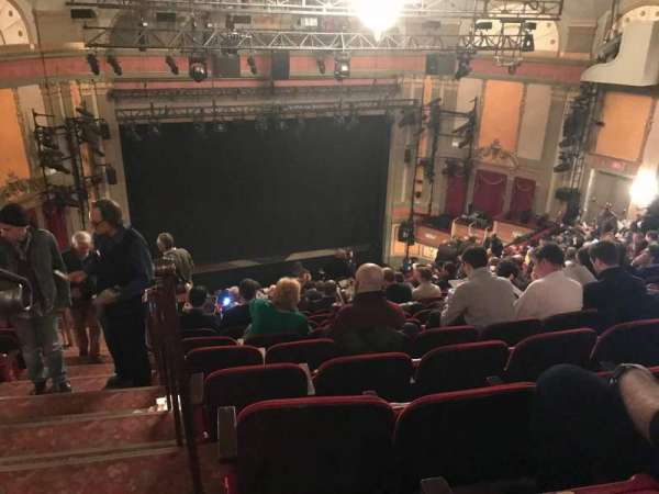 Neil Simon Theatre, section: Mezzanine C, row: S, seat: 101