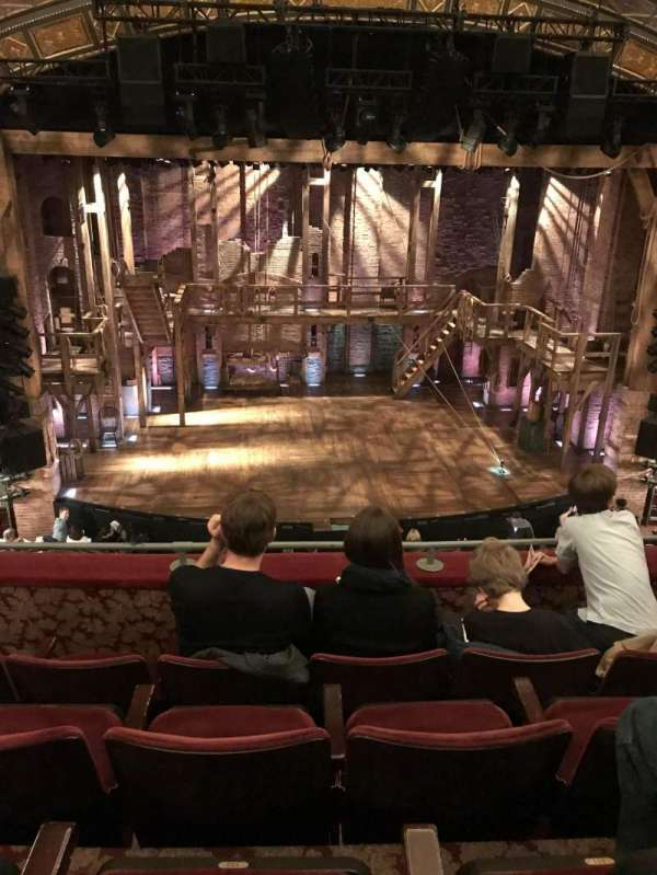 Richard Rodgers Theatre, section: Mezzanine C, row: D, seat: 112