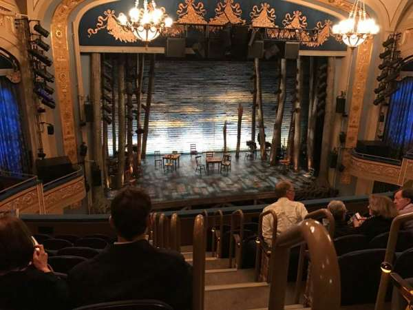 Gerald Schoenfeld Theatre, section: Mezzanine, row: H, seat: 1