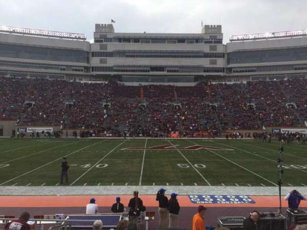 Lane Stadium, section: 11, row: K, seat: 2
