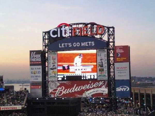 Citi Field, section: 504, row: 7, seat: 8