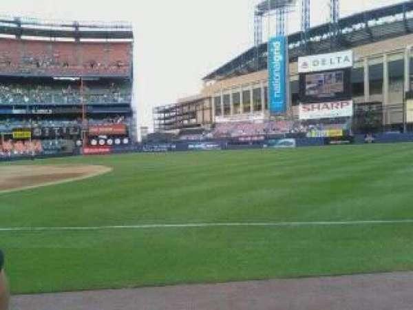 Shea Stadium, row: 10, seat: 6