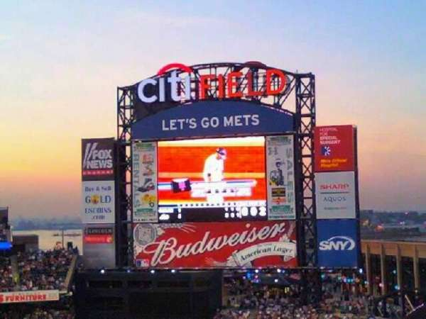 Citi Field, section: 504, row: 7, seat: 6