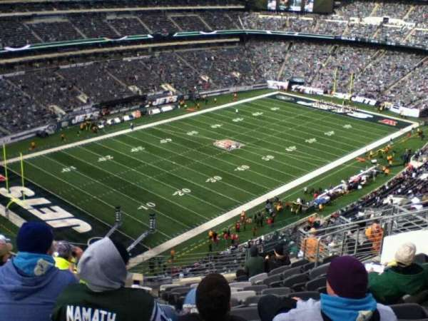 MetLife Stadium, section: 346, row: 17, seat: 8