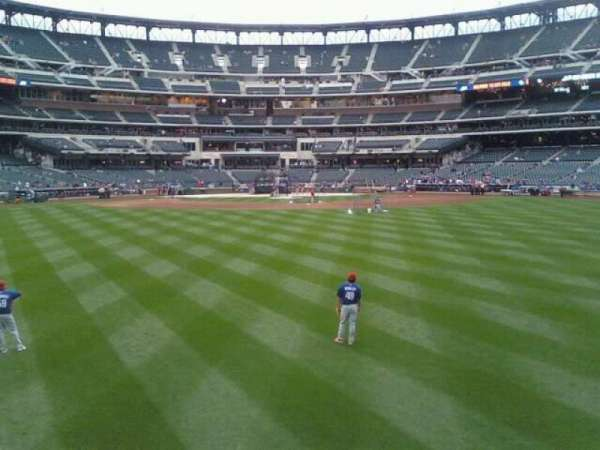 Citi Field, section: 141, row: 1, seat: 6