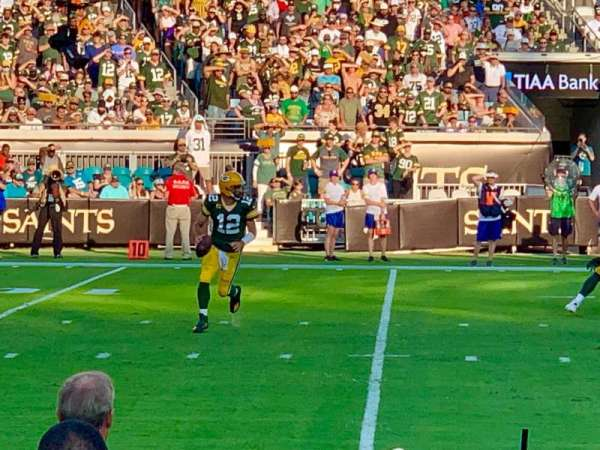 TIAA Bank Field, section: 113, row: A, seat: 6