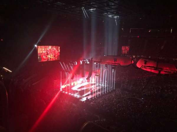 T-Mobile Arena, section: 206, row: K, seat: 1
