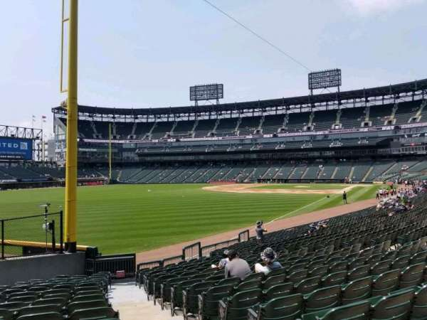 Guaranteed Rate Field, section: 155, row: 20, seat: 1