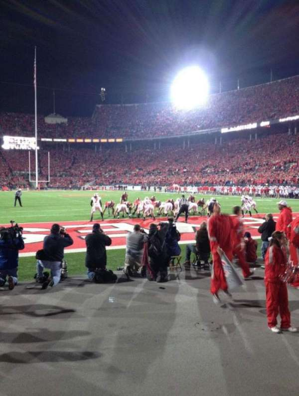 Ohio Stadium, section: 37AA, row: 1, seat: 20