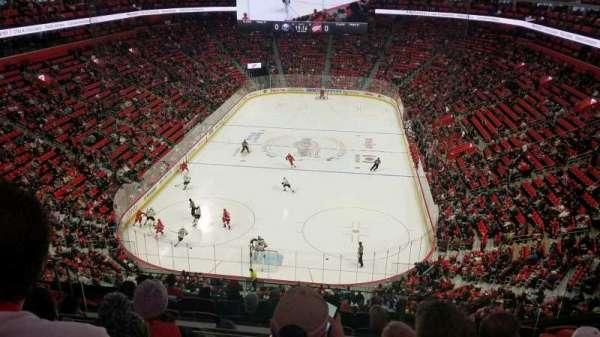 Little Caesars Arena, section: M2, row: 4, seat: 16