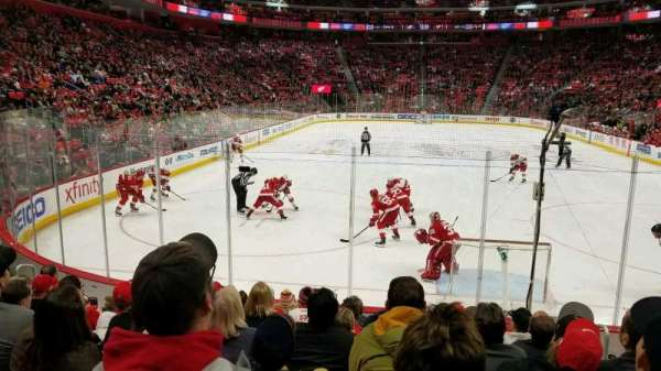 Little Caesars Arena, section: 103, row: 9, seat: 3