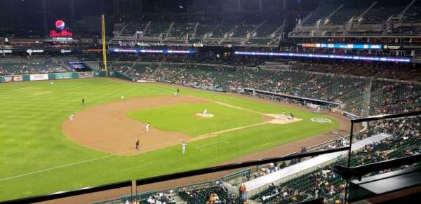 Comerica Park, section: Suite 238, row: A, seat: 6