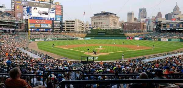 Comerica Park, section: 127A, row: D, seat: 4