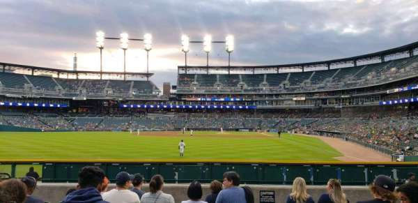 Comerica Park, section: 147, row: H, seat: 16