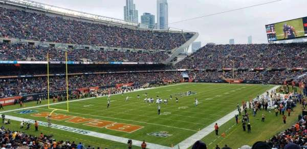 Soldier Field, section: 218, row: 7, seat: 1