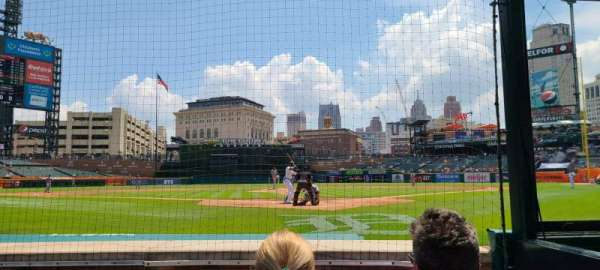 Comerica Park, section: 128, row: 3, seat: 2