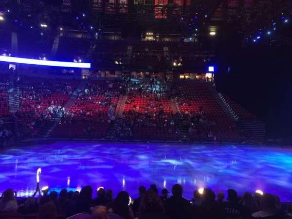 Thomas & Mack Center, section: 106, row: A, seat: 12