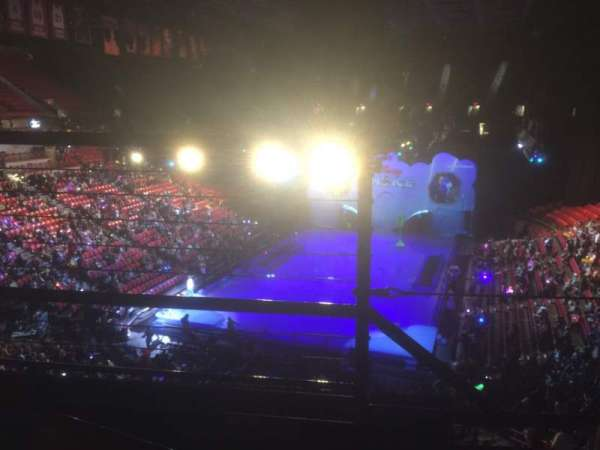 Thomas & Mack Center, section: 216, row: B, seat: 9