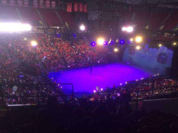 Thomas & Mack Center, section: 212, row: G, seat: 11