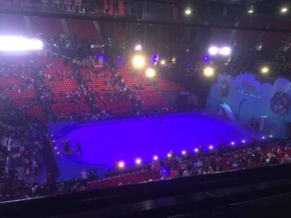 Thomas & Mack Center, section: 211, row: A, seat: 6