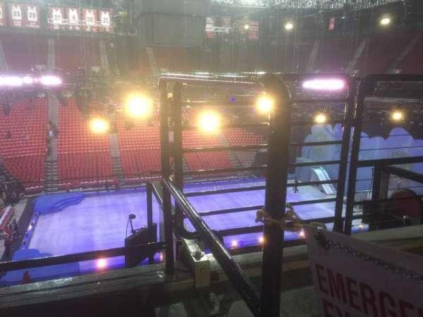 Thomas & Mack Center, section: 210, row: B, seat: 5