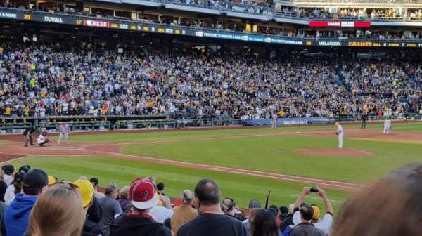 PNC Park, section: 110, row: G, seat: 28
