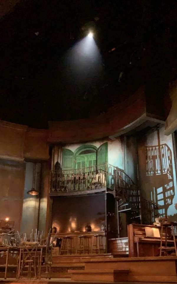 Walter Kerr Theatre, section: Orchestra R, row: E, seat: 8