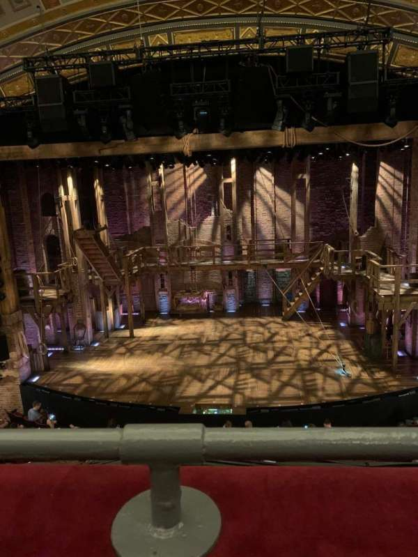Richard Rodgers Theatre, section: Front Mezzanine C, row: A, seat: 105
