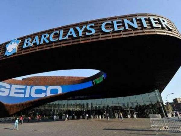 Barclays Center, section: Outside