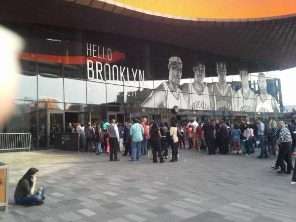 Barclays Center, section: Entrance