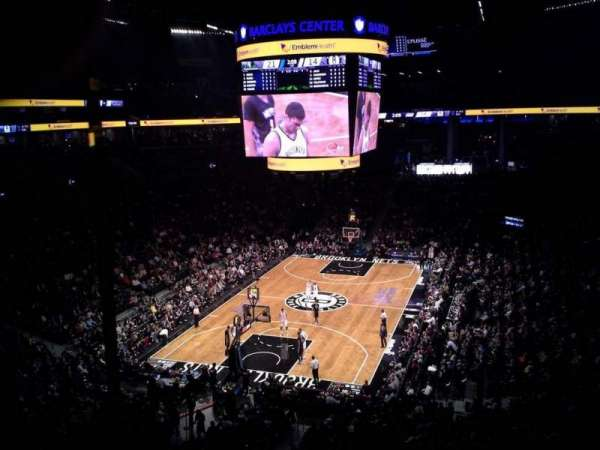 Barclays Center, section: 214, row: 1, seat: 10