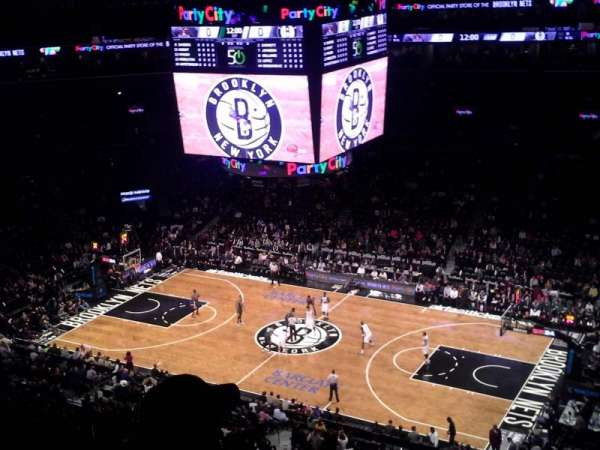 Barclays Center, section: 222, row: 6, seat: 2