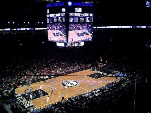 Barclays Center, section: 212, row: 2, seat: 1
