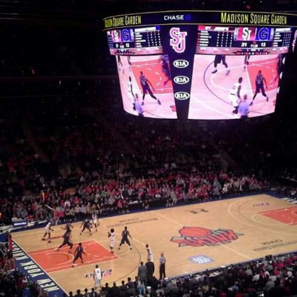Madison Square Garden, section: 209, row: 6, seat: 1