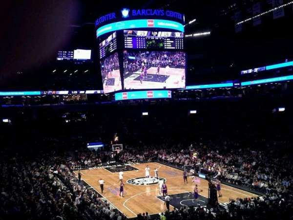 Barclays Center, section: 102, row: 6, seat: 1