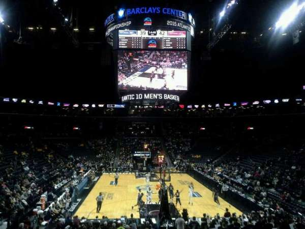 Barclays Center, section: 1, row: 20, seat: 1